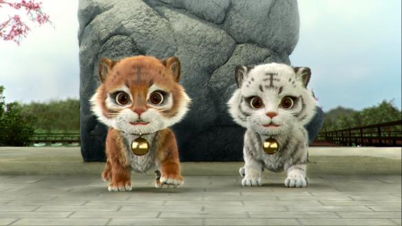 Small cute tigers.